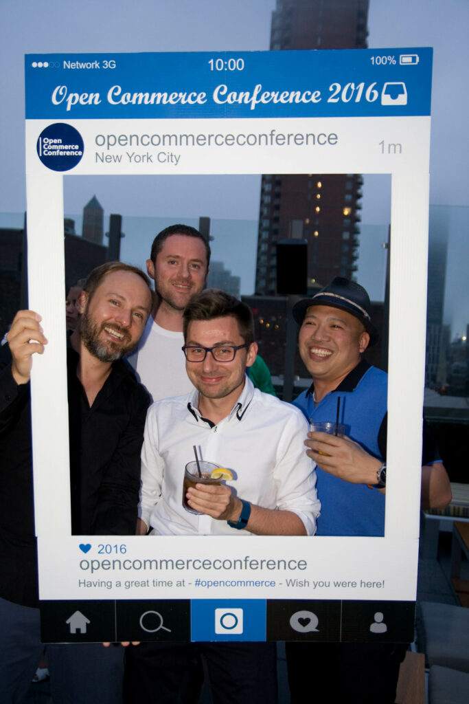 rooftop party at open commerce conf 2016
