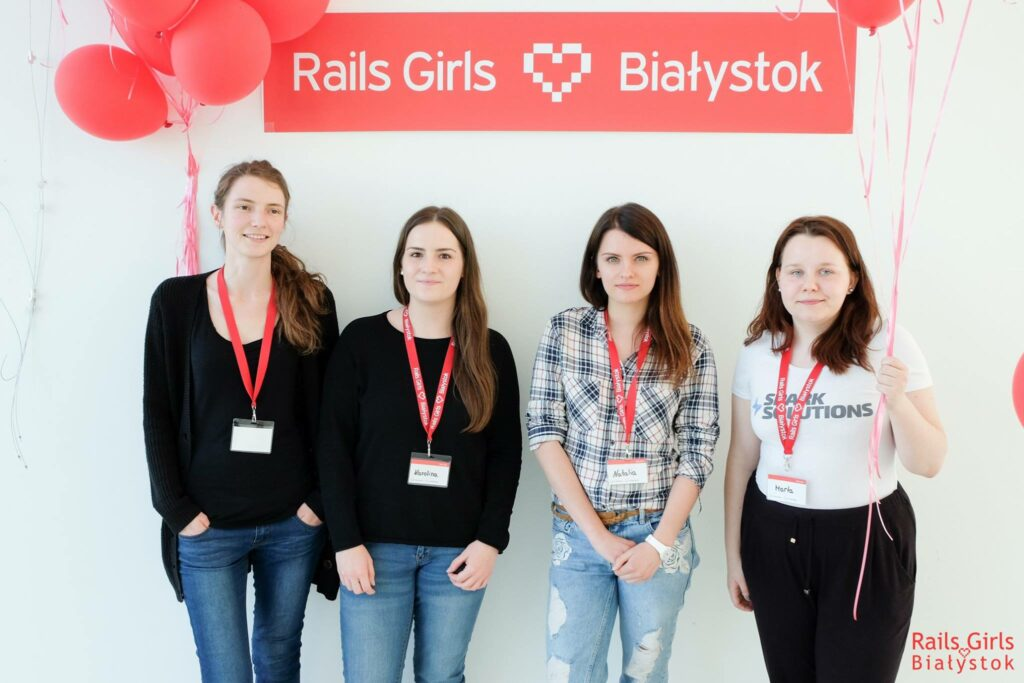 Spark Solutions at Rails Girls Bialystok