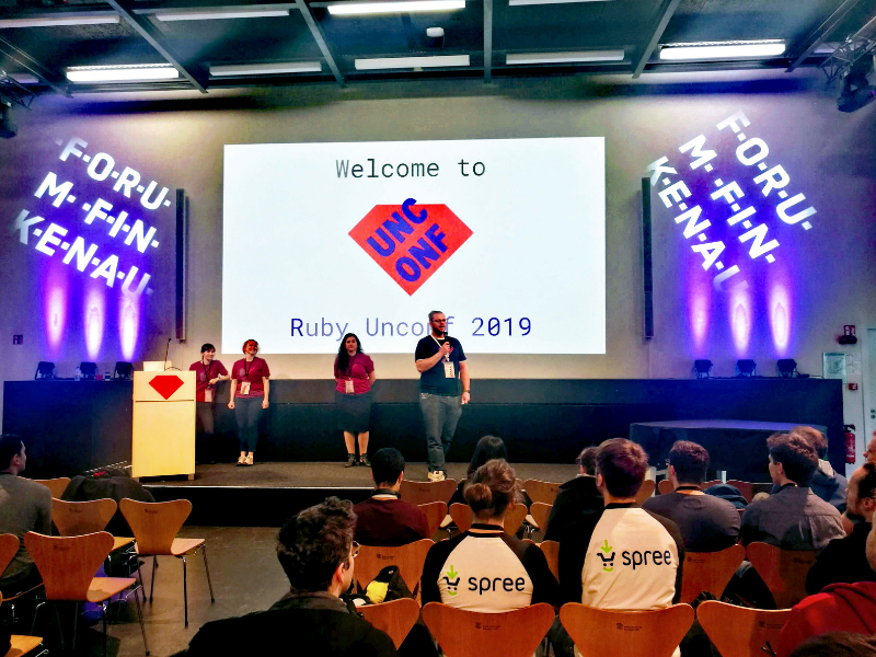 Spark Solutions at Hamburg Ruby UnConf 2019