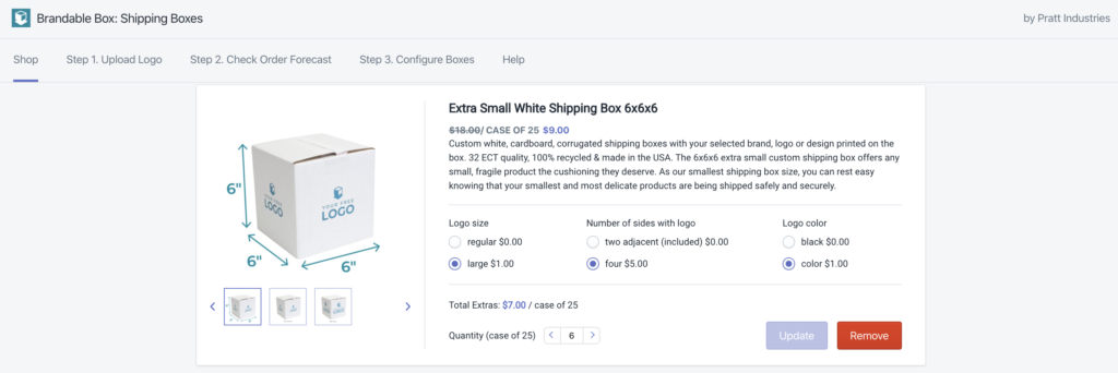 andable Box Shopify app by Spark Solutions